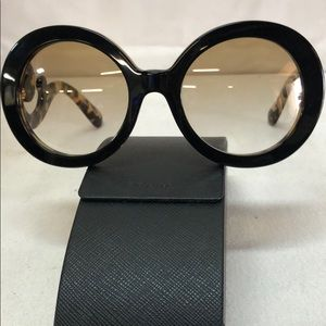 PRADA MINIMAL BAROQUE SUNGLASSES WITH CASE